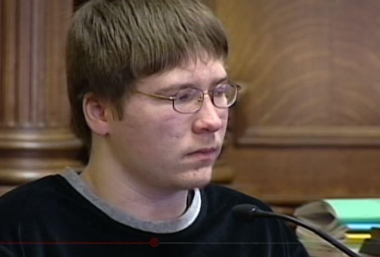 Brendan Dassey, en un fotograma de Making a Murderer