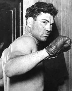 Boxeador estadounidense Jack Dempsey