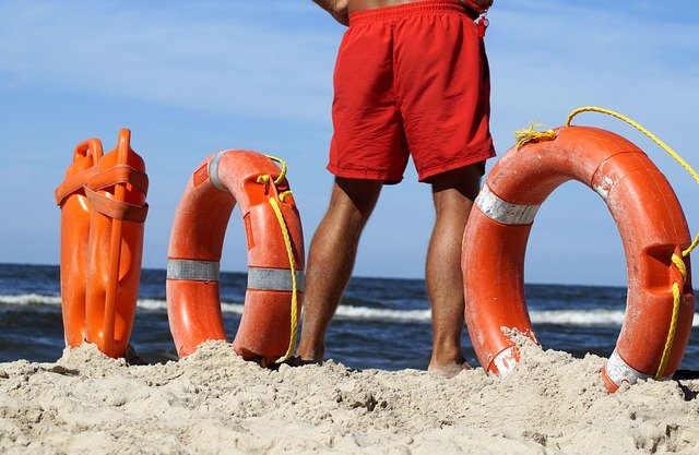 seguridad en las playas